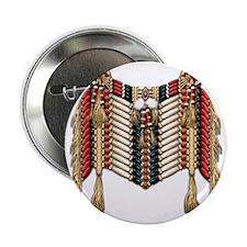 """Native American Breastplate 10 2.25"""" Button"""