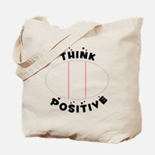 Think Positive Tote Bag