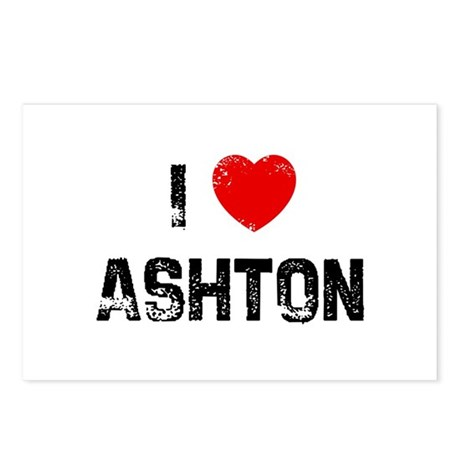 I * Ashton Postcards (Package of 8)