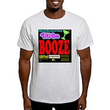 BPWineLabelBoozeBlack T-Shirt
