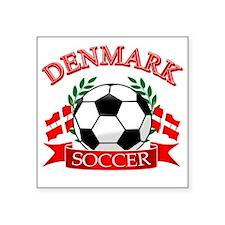 "denmark Square Sticker 3"" x 3"""