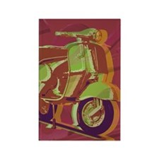 vespa-hard ipad cover Rectangle Magnet