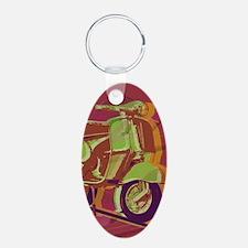 vespa-hard ipad cover Keychains