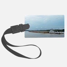 Mississippi River Barge Luggage Tag