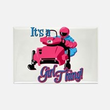 It's a girl thing Rectangle Magnet