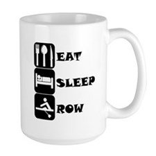 Eat Sleep Row Mugs