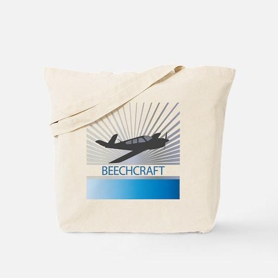 Aircraft Beechcraft Tote Bag