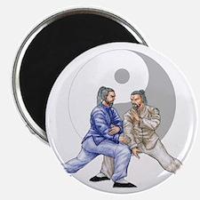 yingyangshoulderNoWordsLight Magnet