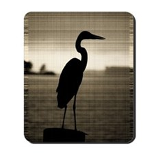 Great Blue Heron Mousepad
