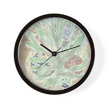 Leaf WIndow Wall Clock