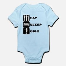 Eat Sleep Golf Body Suit