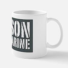 My Son is a Marine Mug