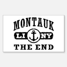 Montauk The End Decal