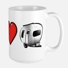 Peace Love & Camping Mugs