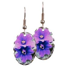 African violet Earring