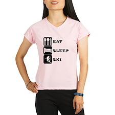 Eat Sleep Ski Performance Dry T-Shirt