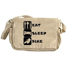 Eat Sleep Bike Messenger Bag
