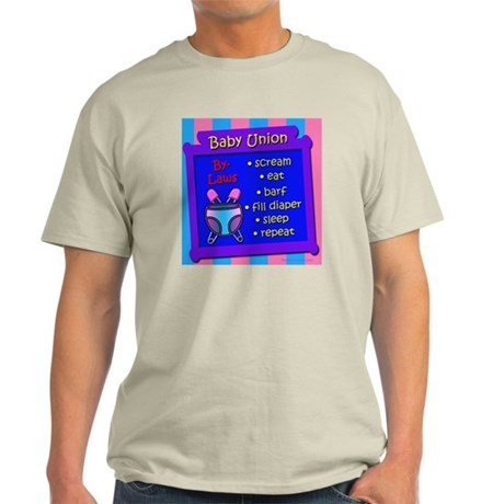 Baby Union By-Laws Light T-Shirt