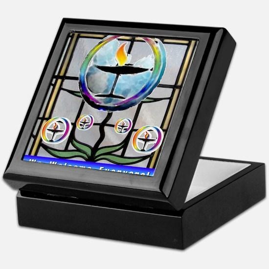 Unitarian 5 Keepsake Box