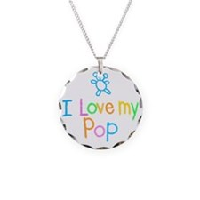 I Love My Pop Necklace