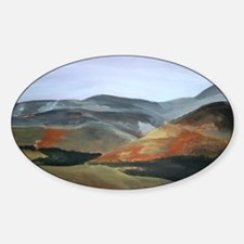 Cheviot Hills, Northumberland Decal