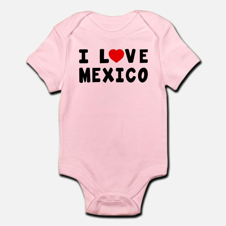 I Love Mexico Onesie