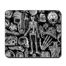 anatomy_black_pillow_cases Mousepad