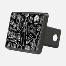 anatomy_black_pillow_cases Hitch Cover