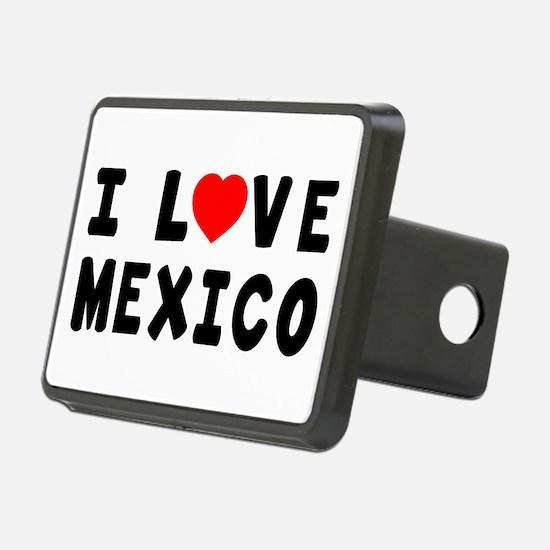 I Love Mexico Hitch Cover