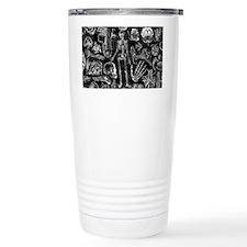 anatomy_black_pillow_cases Thermos Mug