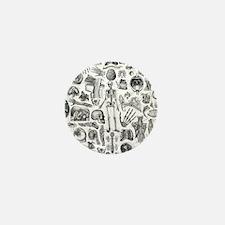 anatomy_W_queen_duvet Mini Button