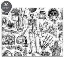 anatomy_white_pillow_cases Puzzle