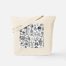 anatomy_W_twin_duvet Tote Bag