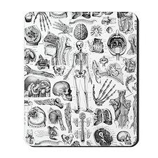 anatomy_W_twin_duvet Mousepad