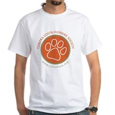 CCHS paw round logo with web site Shirt