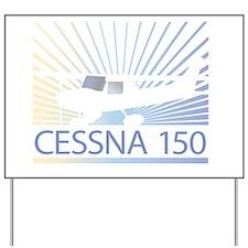 Aircraft Cessna 150 Yard Sign