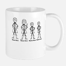 Personalized Super Family Mugs