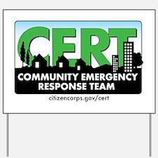 CERT Logo-CAr Magnet Yard Sign