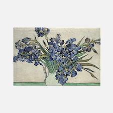 Vase with Irises - Van Gogh - c1890 Magnets