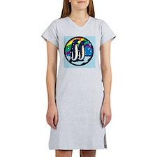 Rainbow Penguin Women's Nightshirt