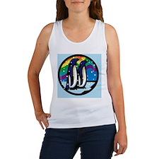 Rainbow Penguin Women's Tank Top