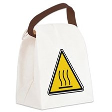 Hot Surface Canvas Lunch Bag