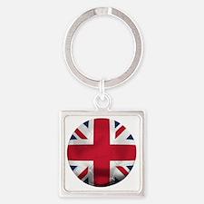 England Football Square Keychain