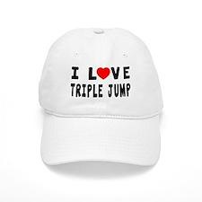 I Love Triple Jump Baseball Cap