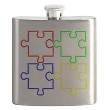 Autism LargeII Flask