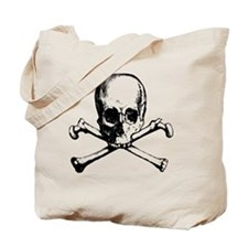Skull And Crossbone Tote Bag