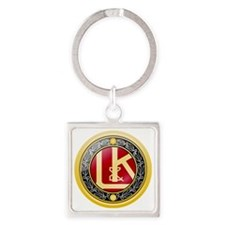 Laurin  Klement Square Keychain