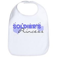 Soldier's Princess Bib