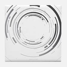 Abstract lens Tile Coaster