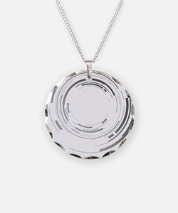 Abstract lens Necklace